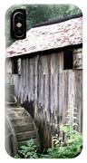 Cade's Grist Mill IPhone Case