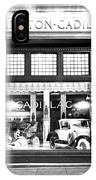 Cadillac Storefront, 1927 IPhone Case
