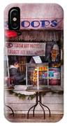 Cafe - Clinton Nj - The Luncheonette  IPhone Case