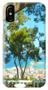 Cafe Terrace At Bohali Overlooking Zante Town IPhone Case