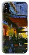 Cafe Terrace On The Place Du Forum IPhone Case