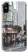 Cafe Zoetrope  IPhone Case