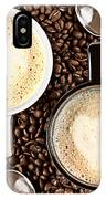 Caffe Latte For Two IPhone Case