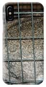 Caged Rabbit IPhone Case