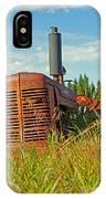 Calgary Tractor IPhone Case