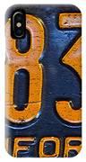 California 1937 IPhone Case