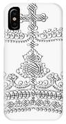 Calligraphy Crown IPhone Case