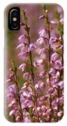 Calluna Vulgaris 2 IPhone Case