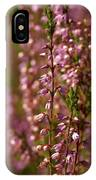 Calluna Vulgaris IPhone Case