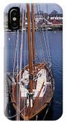 Camden Tall Ship IPhone Case