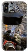 Campfire Cooking IPhone Case