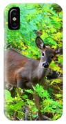Can I Help You My Deer IPhone Case
