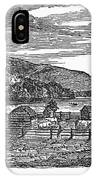 Canada: Farm, C1820 IPhone Case