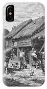 Canada: Farming, 1883 IPhone Case