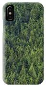 Canadian Boreal Forest. IPhone Case