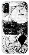 Canals Of Mars, Lowell, 1909 IPhone Case