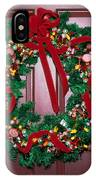 Candy Christmas Wreath IPhone Case