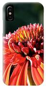 Candy Corn Cone Flower IPhone Case