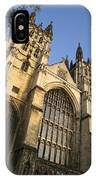 Canterbury Cathedral, Low Angle View IPhone Case