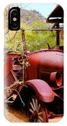 Canyon Creek Ranch Transportation IPhone Case