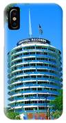 Capital Records Hollywood IPhone Case