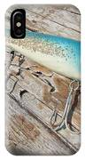 Cap'n Bill Swimmer Vintage Saltwater Fishing Lure IPhone Case