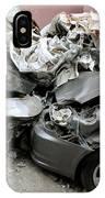 Car Crash In Cairo IPhone Case