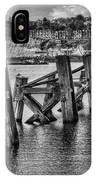 Cardiff Bay Old Jetty Supports Mono IPhone Case