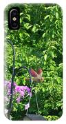Cardinal Ready To Land IPhone Case