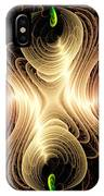Caribbean Wave - The Beauty Of Simple Fractals IPhone X Case