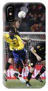Carles Puyol Jumping IPhone Case