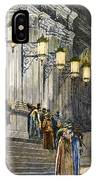 Carnegie Hall, 1891 IPhone Case