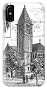 Carnegie Library, 1890 IPhone Case