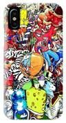 Carnival Balloons IPhone Case