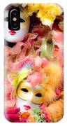 Carnival Mask IPhone Case