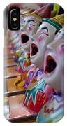Carnival Of Clowns IPhone Case