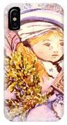 Caroling Angel IPhone Case
