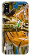 Carousal Camel And Tiger On A Merry-go-round IPhone Case