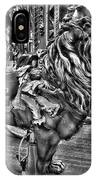 Carousel  Black And White IPhone Case