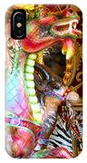 Carousel Dragon IPhone Case
