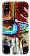 Carousel Horse With Fish IPhone Case