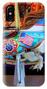 Carousel Horse With Flags IPhone Case