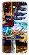 Carousel Horse With Leaves IPhone Case