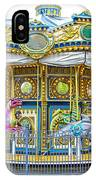 Carousel Ride In Pittsburgh Pennsylvania IPhone Case