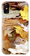 Carpet Of Leaves IPhone Case