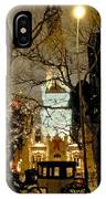 Carriage At The Water Tower IPhone Case