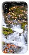 Cascades At Mingo Falls IPhone Case