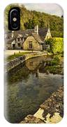 Castle Combe Bridgeside IPhone Case
