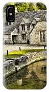 Castle Combe Riverside IPhone Case