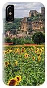 Castle In Dordogne Region France IPhone Case
